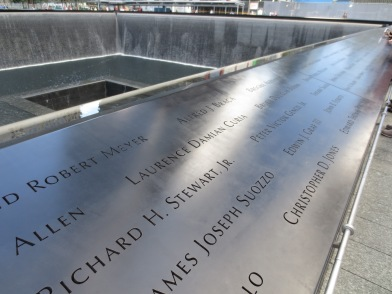 Names of the victims at the world trade center