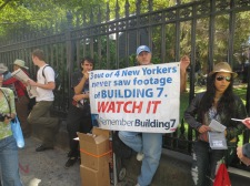 A truther that claims most New Yorkers have not seen the collapse of WTC 7 and that it is the key to this whole conspiracy.
