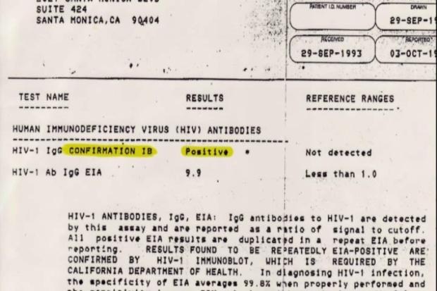 Christine Maggiore HIV results 5