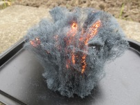 burning steel wool 3