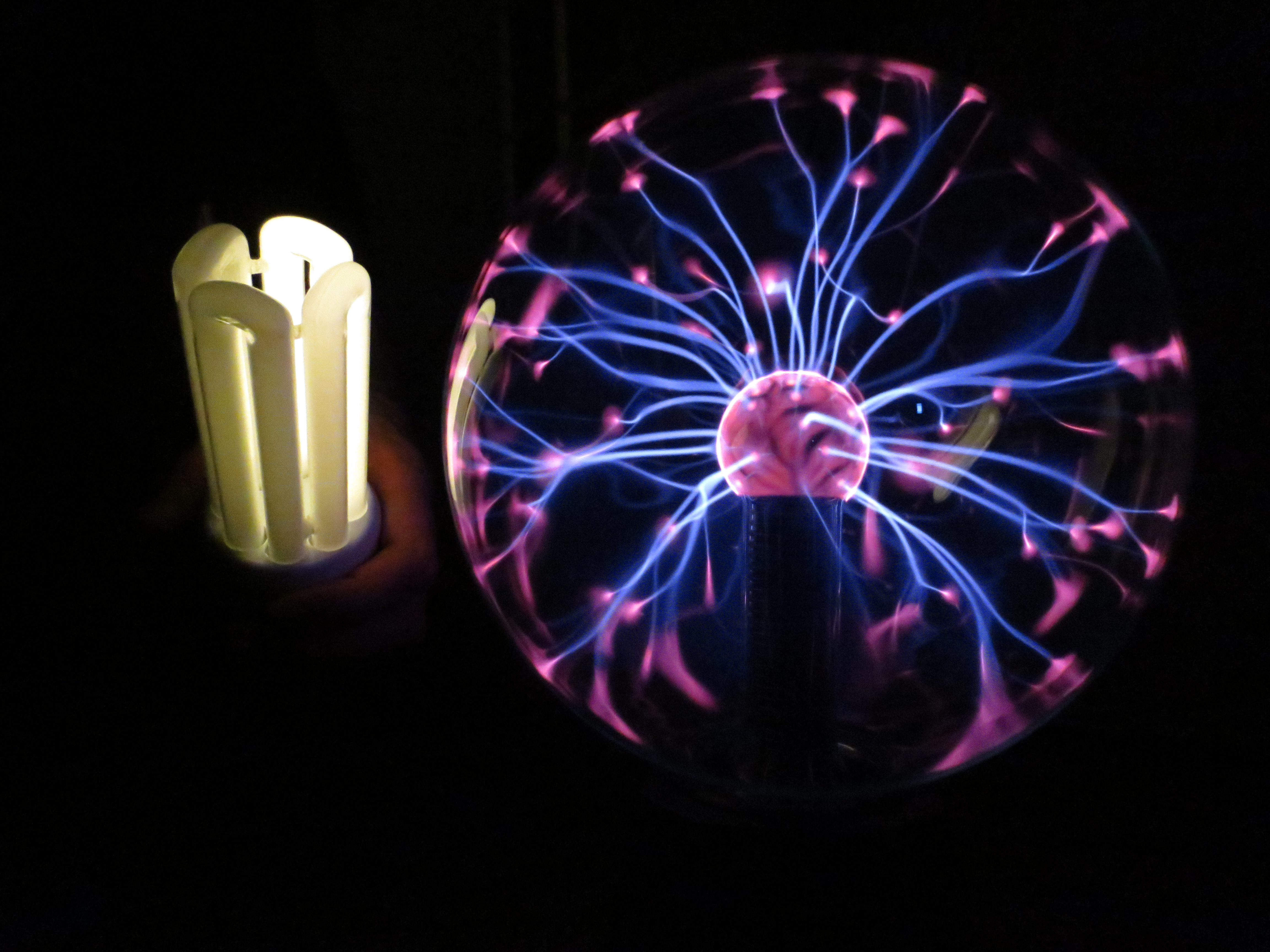 Plasma ball fun3