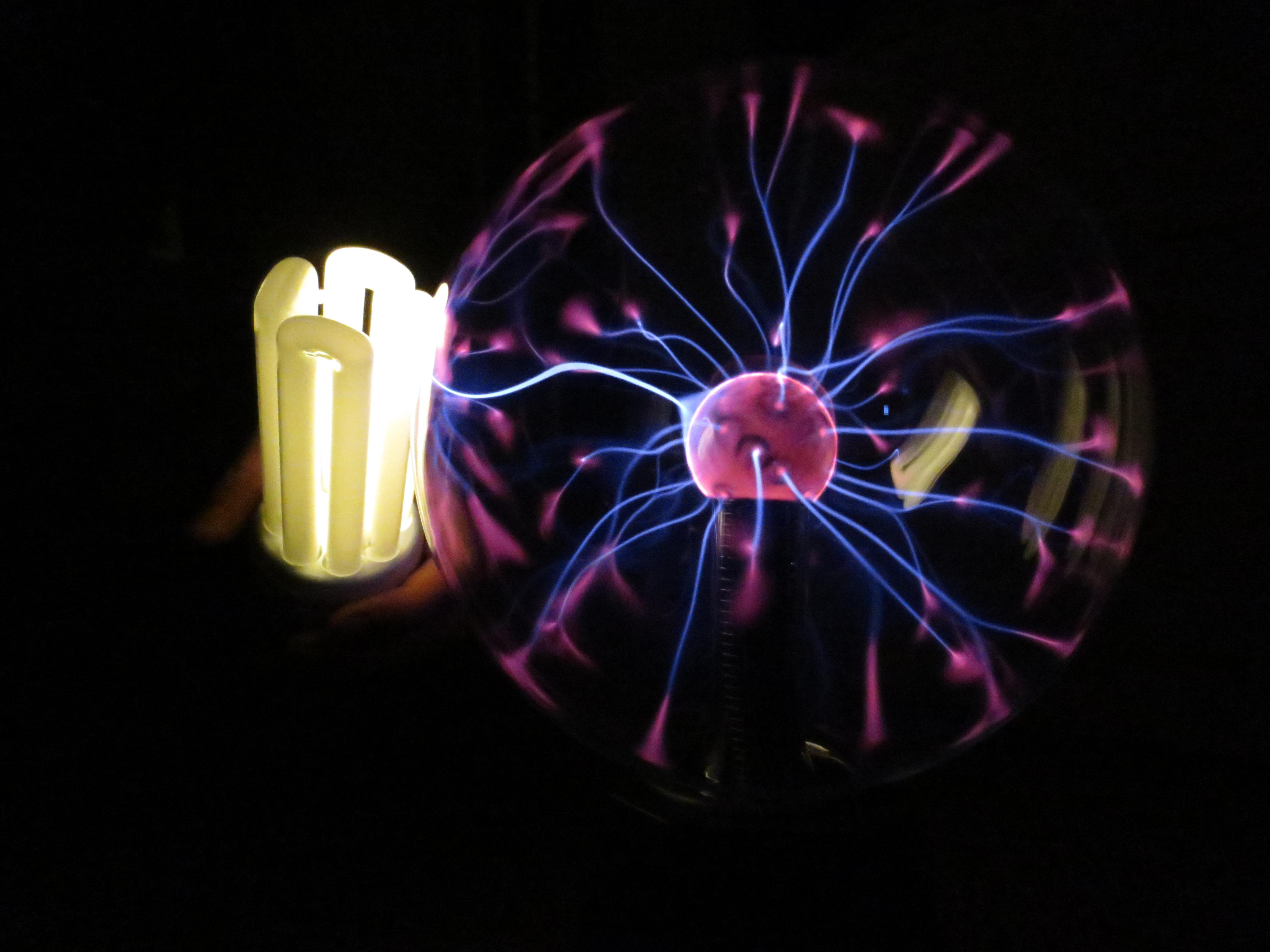 Plasma ball fun4