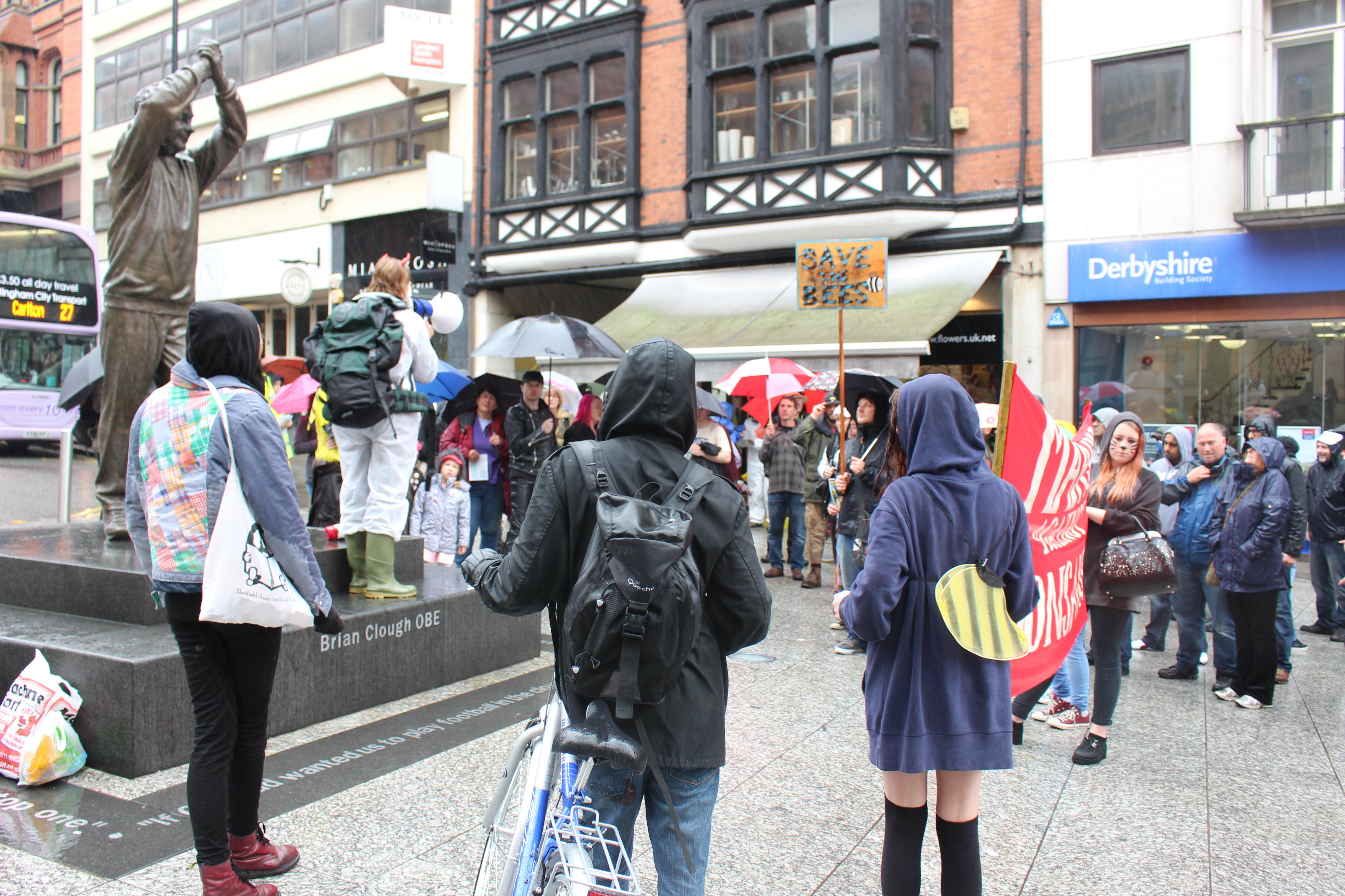 March against monsanto nottingham1
