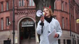 March against monsanto nottingham 7