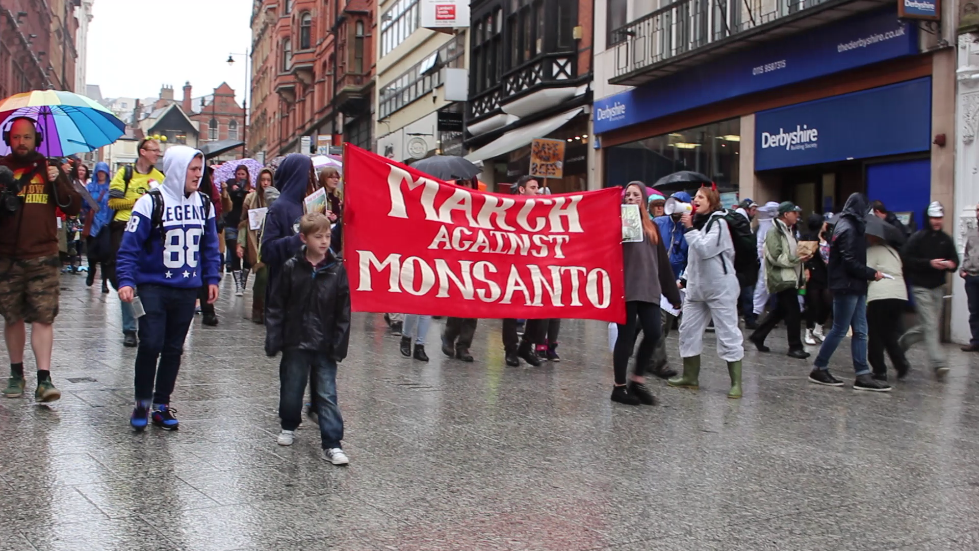 March against monsanto nottingham 8