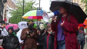 March against monsanto nottingham 9