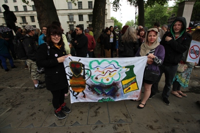 March Against Monsanto London 8