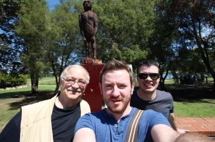 Joe Nickell, Ross, and Myles