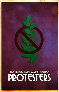 Fact Checking March Against Monsanto Protesters