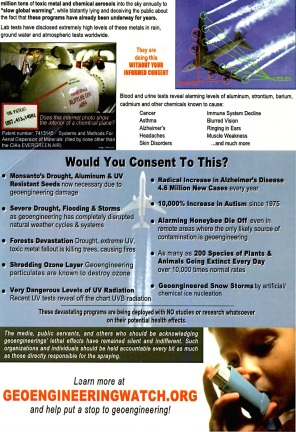 chemtrails flyer 1