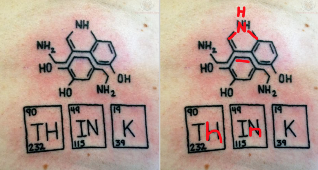 11 Chemistry Tattoo Fails Myles Power
