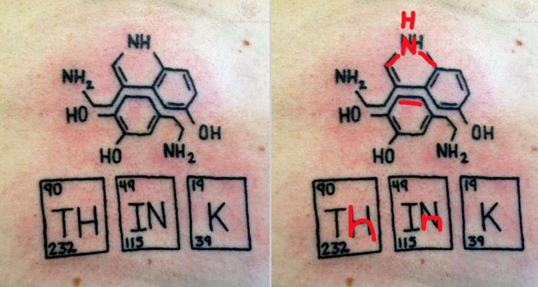 11 Chemistry Tattoo Fails Myles Power