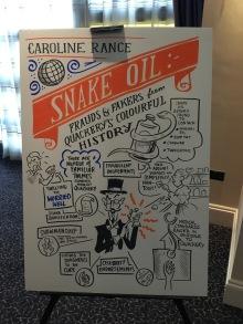 QED 2017 poster snake oil