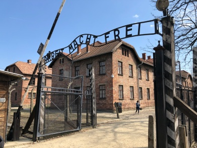 Arbeit macht frei is a German phrase meaning work sets you free