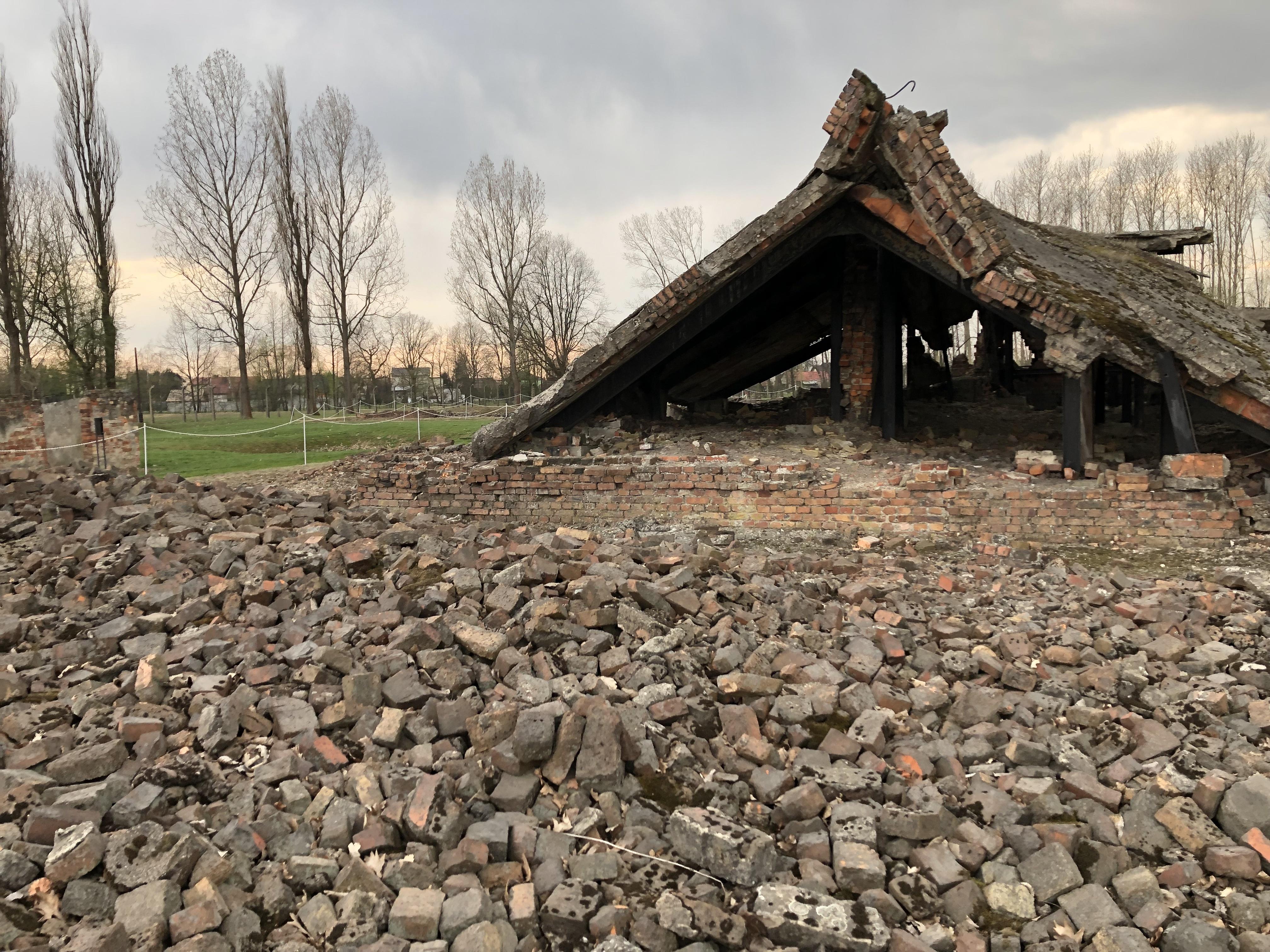 auschwitz birkenau crematorium 22