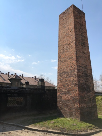 auschwitz crematorium 1 chimney