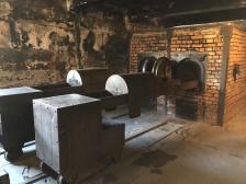 Auschwitz crematorium 1 ovens