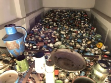 Auschwitz pots and pans