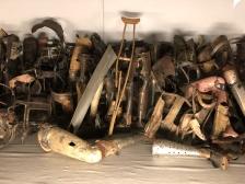 Auschwitz prosthetics