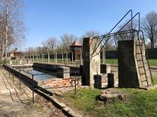 Auschwitz swimming pool