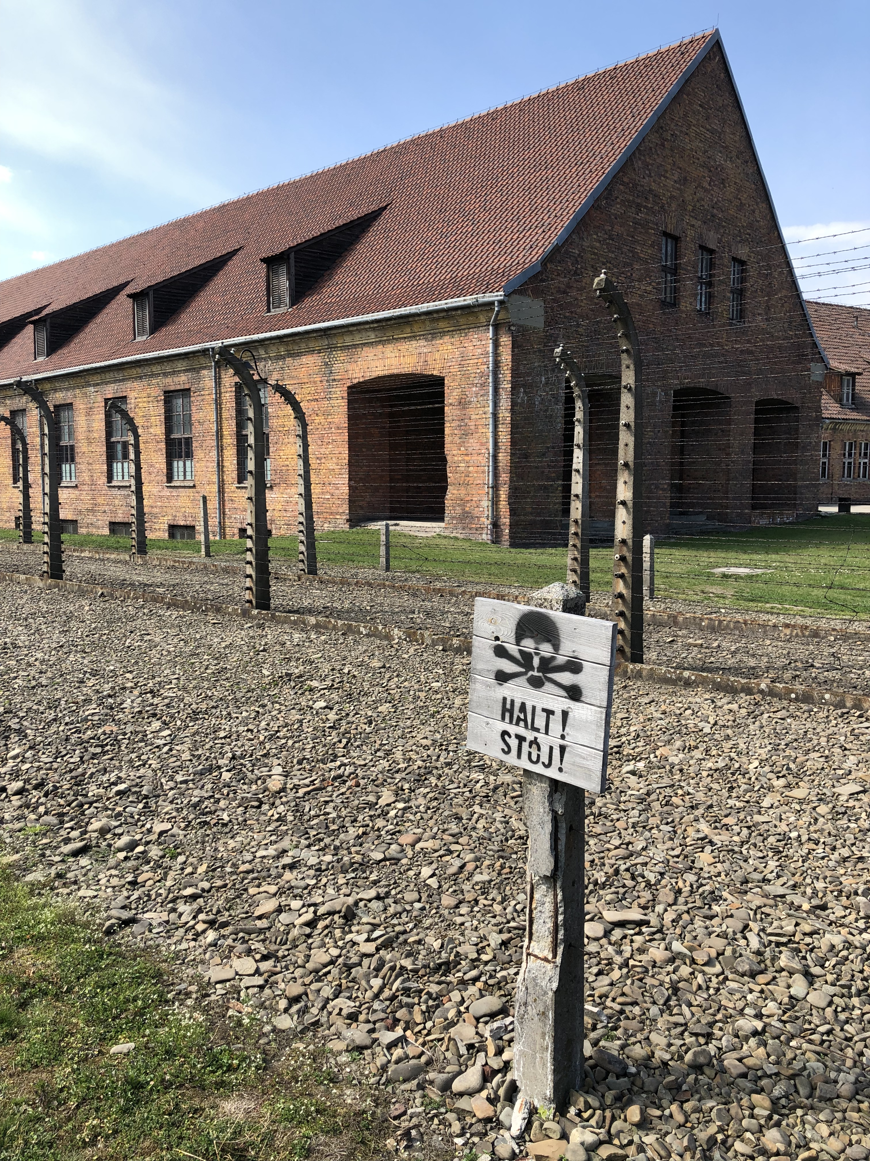 Electrified Fence at Auschwitz