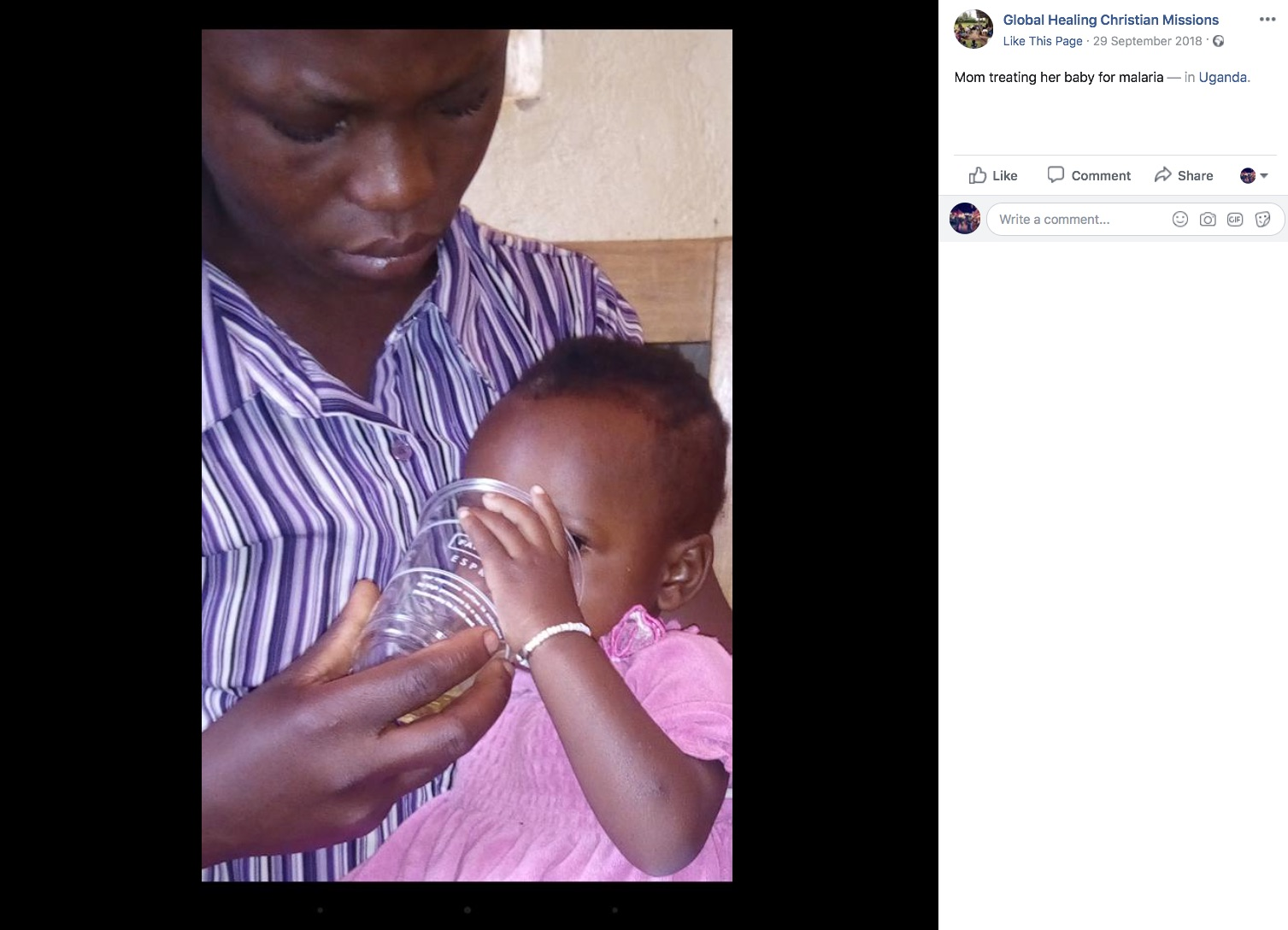 Global Healing Christian Missions Facebook Post4