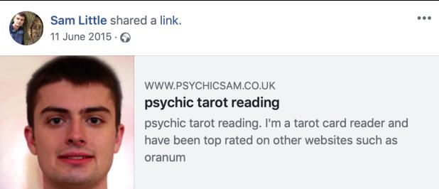 Psychic Sam Little