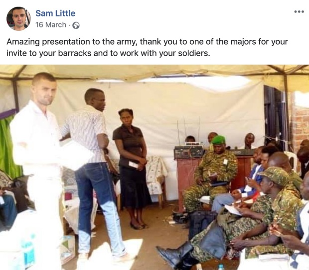 Sam Little Uganda Army MMS 1