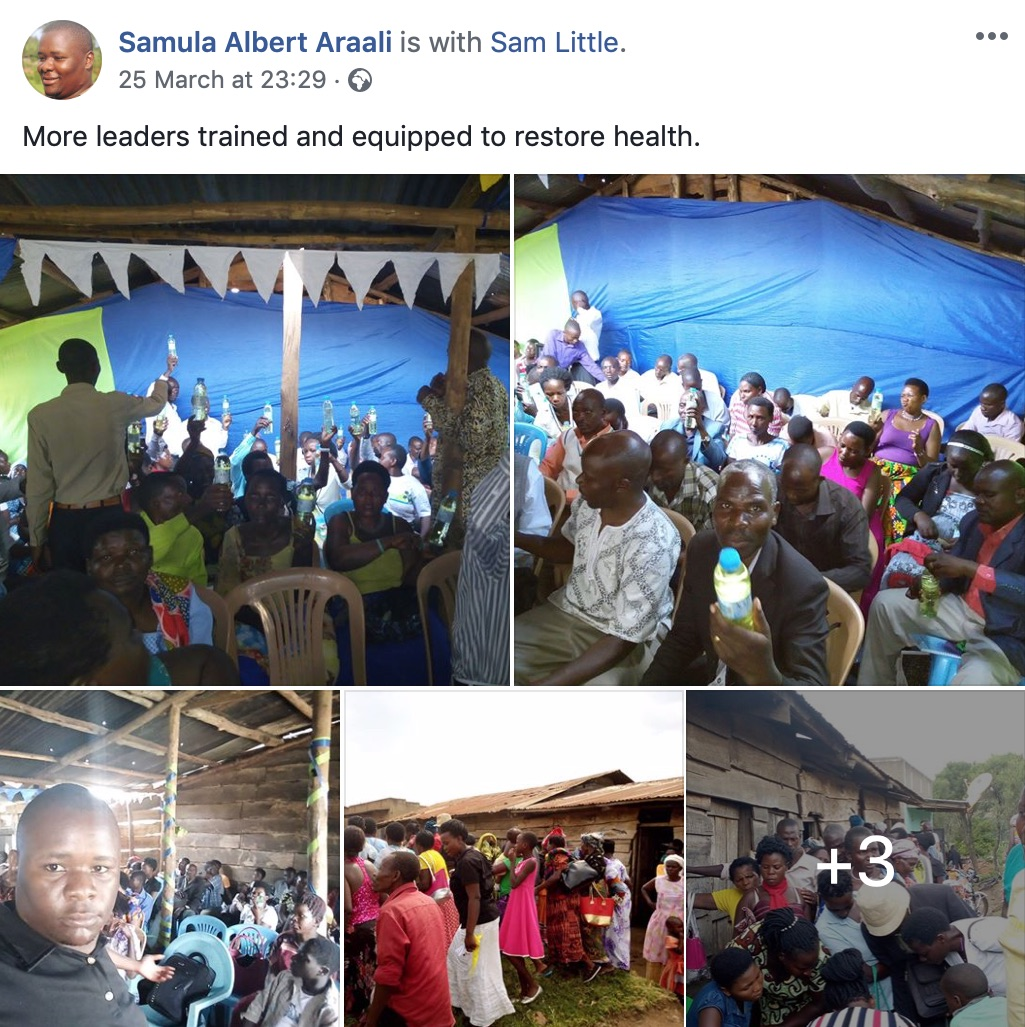 Samula Albert Araali Facebook post2